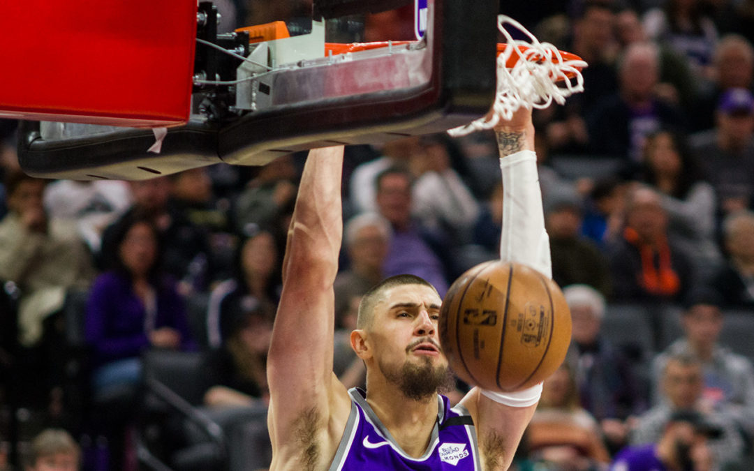 Alex Len has tested positive for COVID-19