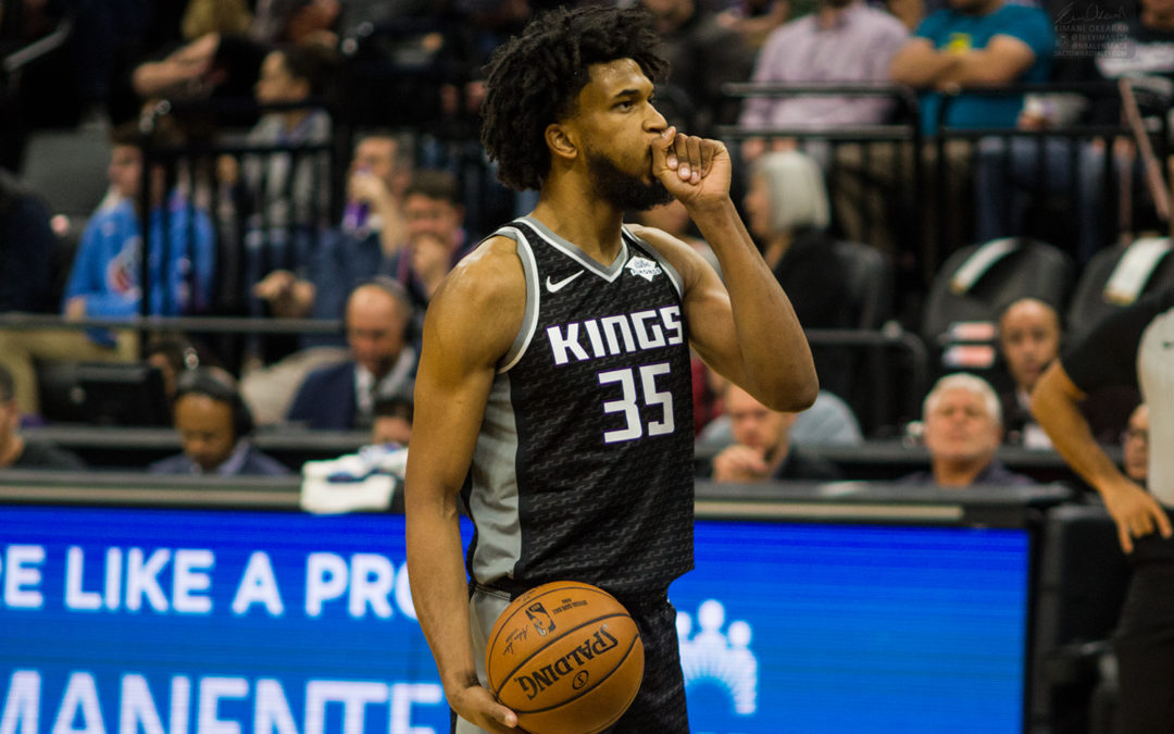 Marvin Bagley diagnosed with right foot strain, will miss remainder of season
