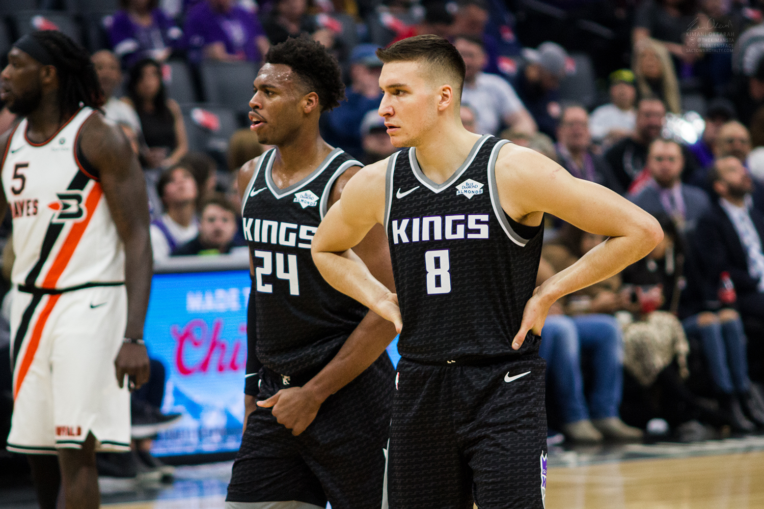 The Kings have until 11:59 PM ET tonight to match the Hawks offer to Bogdan Bogdanovic