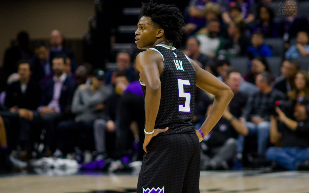 De'Aaron Fox says it's disrespectful national media isn't giving Kings a chance at playoffs