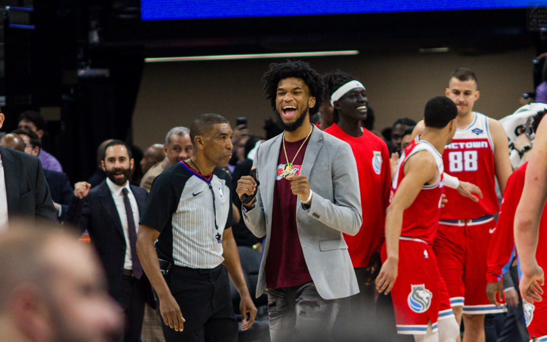 Luke Walton says Kings training staff is confident about Marvin Bagley returning in Orlando