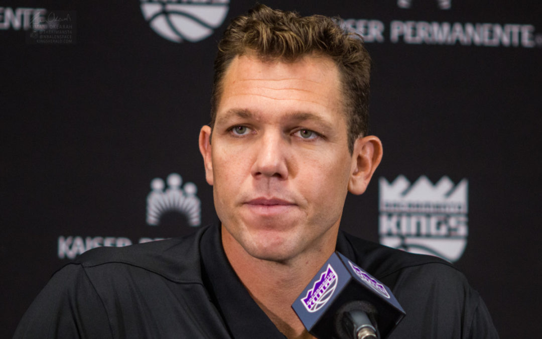 Report: Luke Walton's job is safe and he will coach the Kings next season