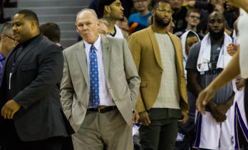 There's still no love lost between George Karl and DeMarcus Cousins