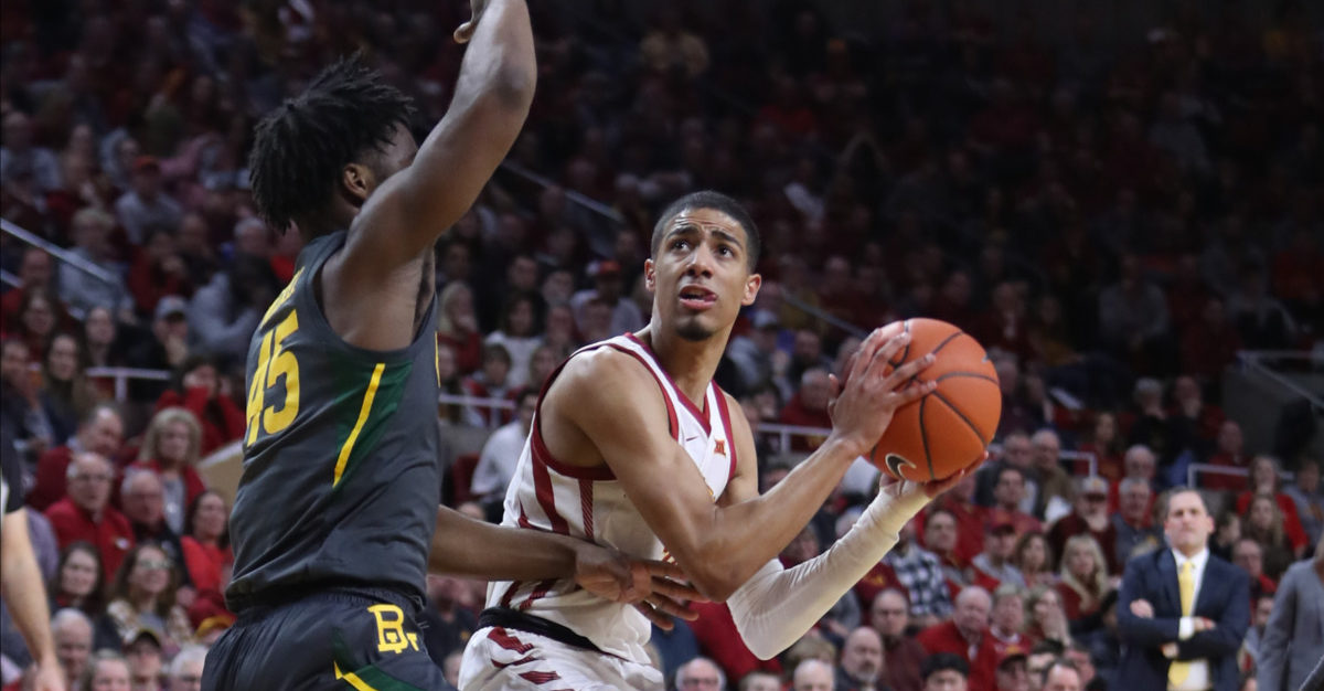 Reviewing the Davion Mitchell v. Tyrese Haliburton matchup in college